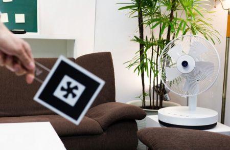 自动追踪用户的电风扇创意设计