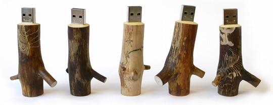 木制U盘创意设计