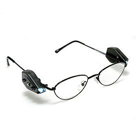 带阅读灯的眼镜创意设计