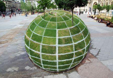 创意3D绿地创意设计