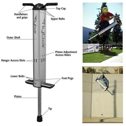 Flybar弹跳机创意设计