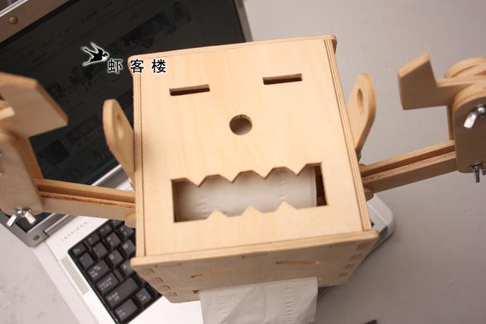 机器人纸巾盒创意设计