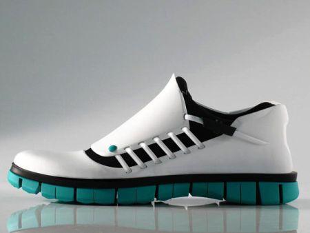 简洁创意的跑鞋创意设计