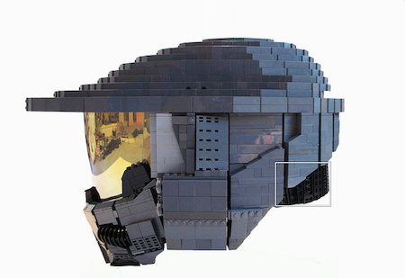 DIY乐高积木头盔创意设计