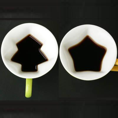 树形杯子和星星杯子创意设计