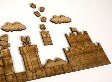 创意马里奥磁铁拼图创意设计