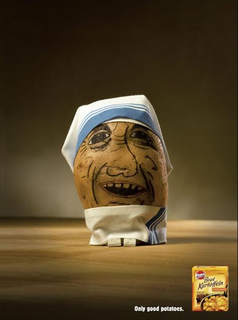 创意土豆广告创意设计