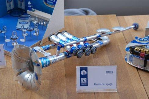 易拉罐DIY作品创意设计