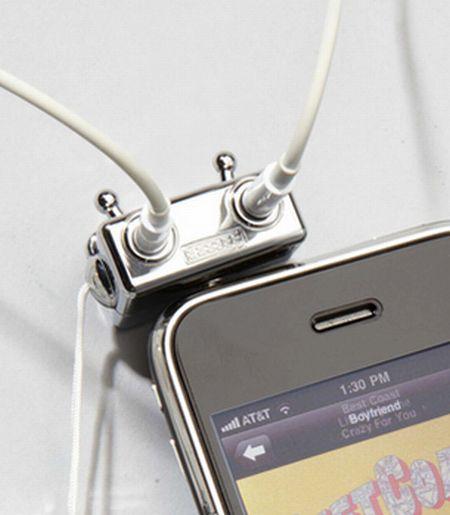 耳机分线器创意设计