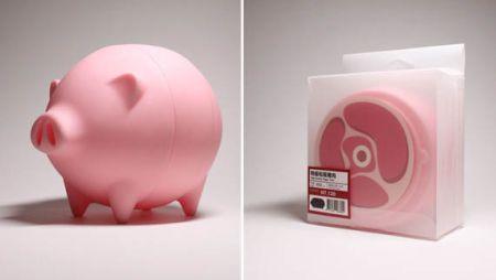 """可以""""长大""""的小猪存钱罐创意设计"""