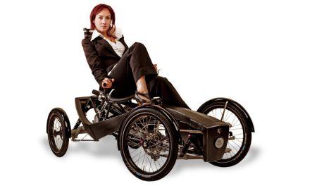 创意卧式自行车创意设计