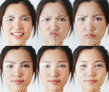 表情眼镜创意设计