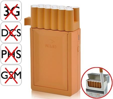 香烟手机信号干扰器创意设计