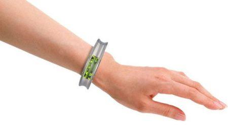 辐射探测手镯创意设计