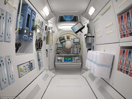 太空宾馆创意设计