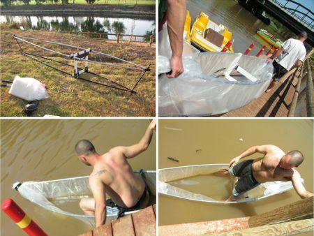 折叠独木舟创意设计