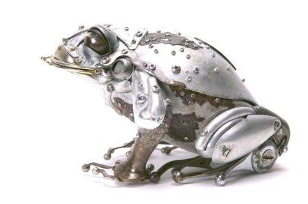 """废旧金属""""变身""""动物雕塑创意设计"""