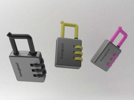 密码锁打火机创意设计