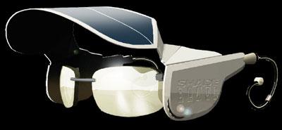 """会""""发电""""的太阳眼镜创意设计"""