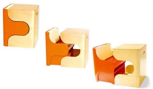 儿童积木桌椅创意设计