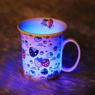 创意发光陶瓷杯创意设计