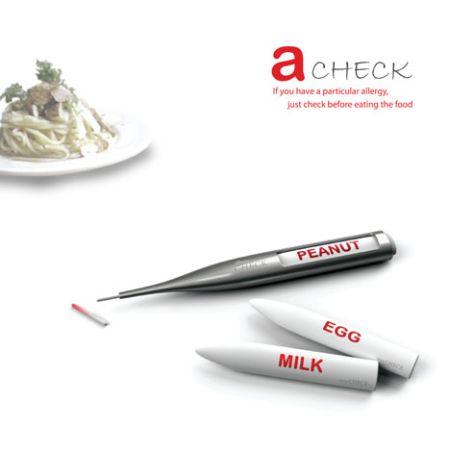 食物过敏探针创意设计