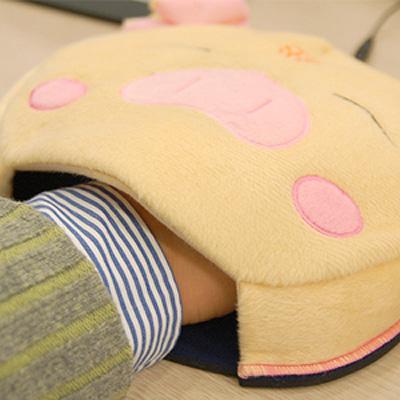 暖手鼠标垫创意设计