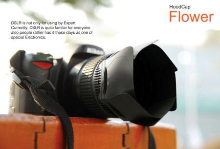 创新花瓣式镜头盖创意设计