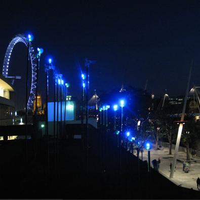 风力发电LED灯创意设计