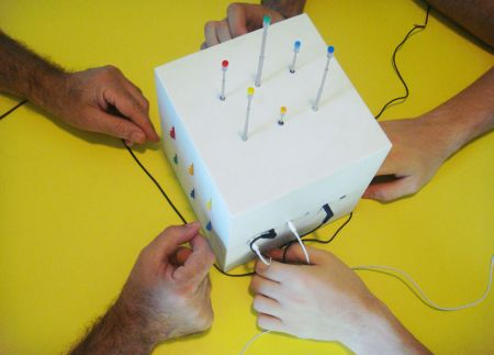 创意多人共享收音机创意设计