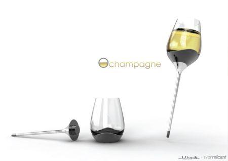 组装酒杯创意设计
