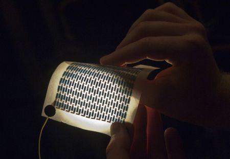 纸质布质太阳能电池创意设计