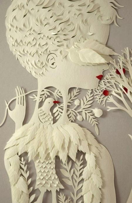 创意3D刀刻画创意设计