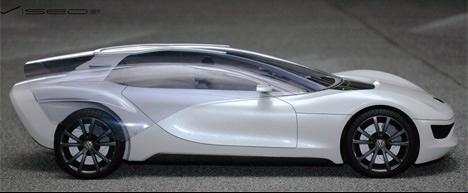 大众和Marc创意,Kirsch合作创意设计的概念车Viseo
