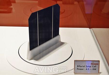 双面太阳能电池创意设计