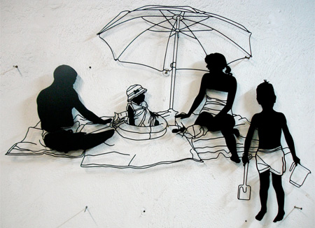 创意金属丝艺术创意设计