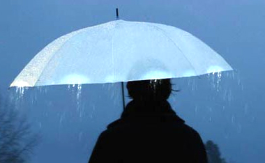 发光雨伞创意设计