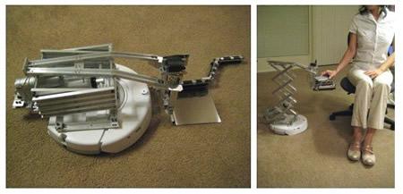 能端茶的机器人创意设计