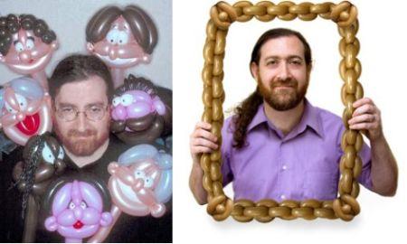 创意手折气球创意设计
