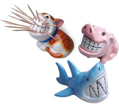 动物牙签座创意设计