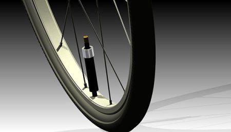 自充气轮胎创意设计