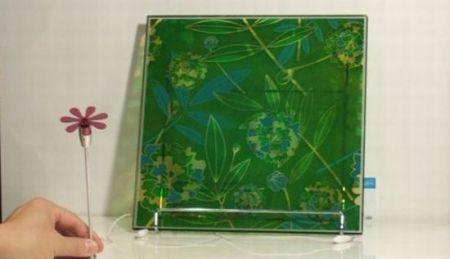 环保彩色太阳能玻璃创意设计