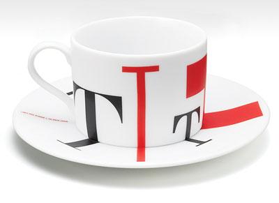 茶杯上的创意设计