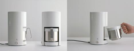 圆筒咖啡机创意设计