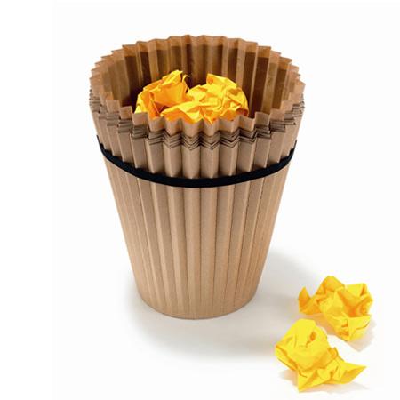 一次性环保垃圾桶创意设计