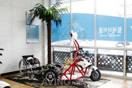 超酷电动轮椅车创意设计