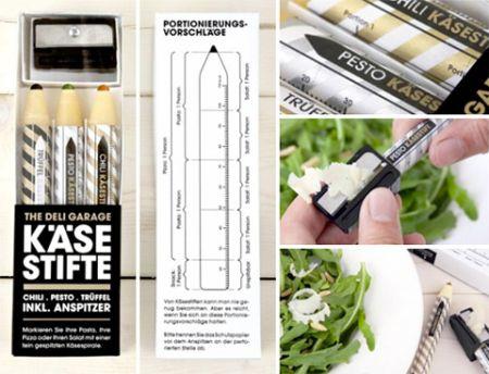 铅笔奶酪创意设计