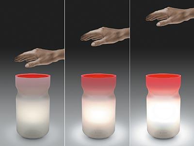 挥手就亮的灯创意设计