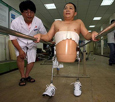 不可思议的假肢创意设计