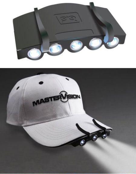 帽夹头灯创意设计